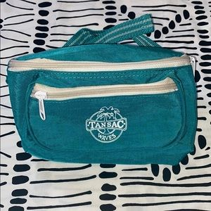 Tansac Waves Teal Fanny Pack
